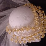 Orange Blossom 40's Bridal Headpiece