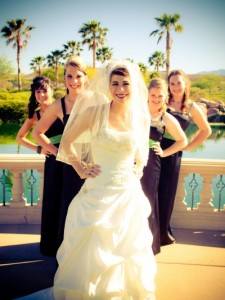 I felt so beautiful at my Las Vegas wedding!