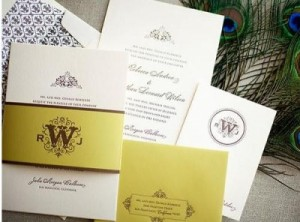 modern wedding invitations 300x222 Reconsider your wedding registry: Choose to benefit a charity of your choice