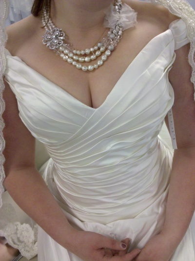 Wedding gown styles bridal spectacular bridal show for Wedding dress large bust small waist