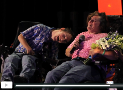 WIsh Upon A Wedding Nick and Robin Memory Lane Video Real Las Vegas Weddings: Cerebral Palsy Survivors Nick and Robin Get their Wish!