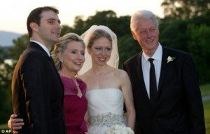 Mother-of-the-bride Hillary Clinton at Chelsea's Wedding
