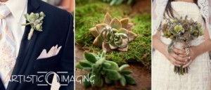 natural style: groom's boutonniere , bride's bouquet, wedding rings