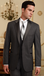 Slender Man in Steel Grey Twilight Tuxedo