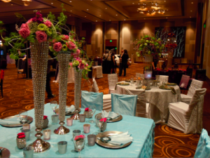 floral and decor displays