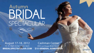Bridal Spec. promo postcard August 2012 show 300x171 Wedding planning dreams will come true at Bridal Spectacular's bridal show, coming August 2012