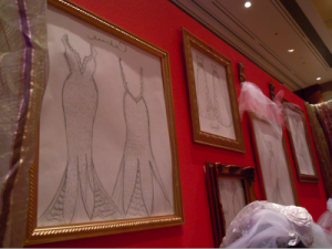 bridal gown sketches