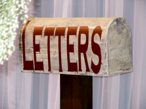 antique mailbox for letters