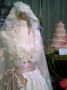 Priscilla of Boston wedding dress display