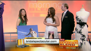 Bridal Spectacular on The Morning Blend