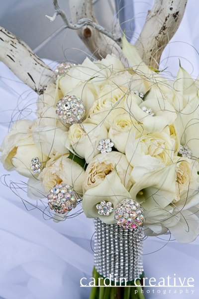 Bouquet by Jovani Linens & Florals | Photo by Cardin Creative Photography