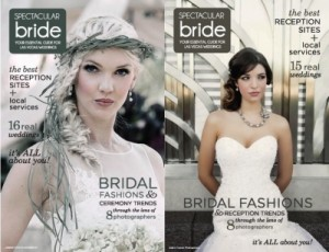 Spectacular Bride Magazine 2013 Cover Photos