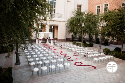 The Smith Center Ceremony Setting A Sophisticated Wedding Awaits at The Smith Center for the Performing Arts