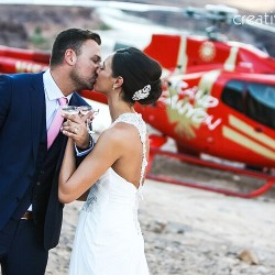 Abbie & James Become Husband and Wife With an Intimate Mountaintop Wedding at the Grand Canyon