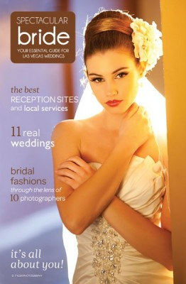 Spectacular Bride Magazine Cover Hair & Makeup by Amelia C & Company Photo by F-Sequence Studio