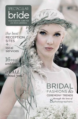 Spectacular Bride Magazine Cover Hair & Makeup by Amelia C & Company Photo by LorenzFoto Photography