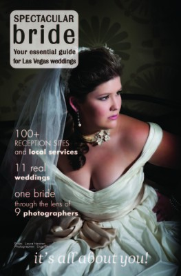 Spectacular Bride Magazine Cover Hair & Makeup by Amelia C & Company Photo by Digs Studio