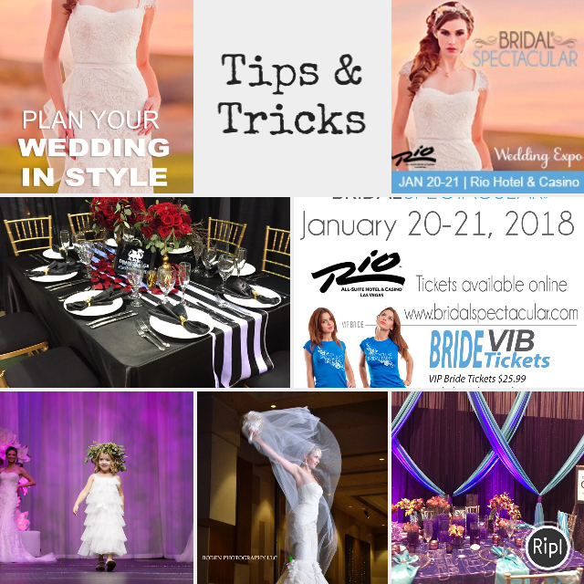 Get Ready To Plan Your Dream Wedding At The Winter Bridal Spectacular Show Las Vegas Blog Bride Magazine