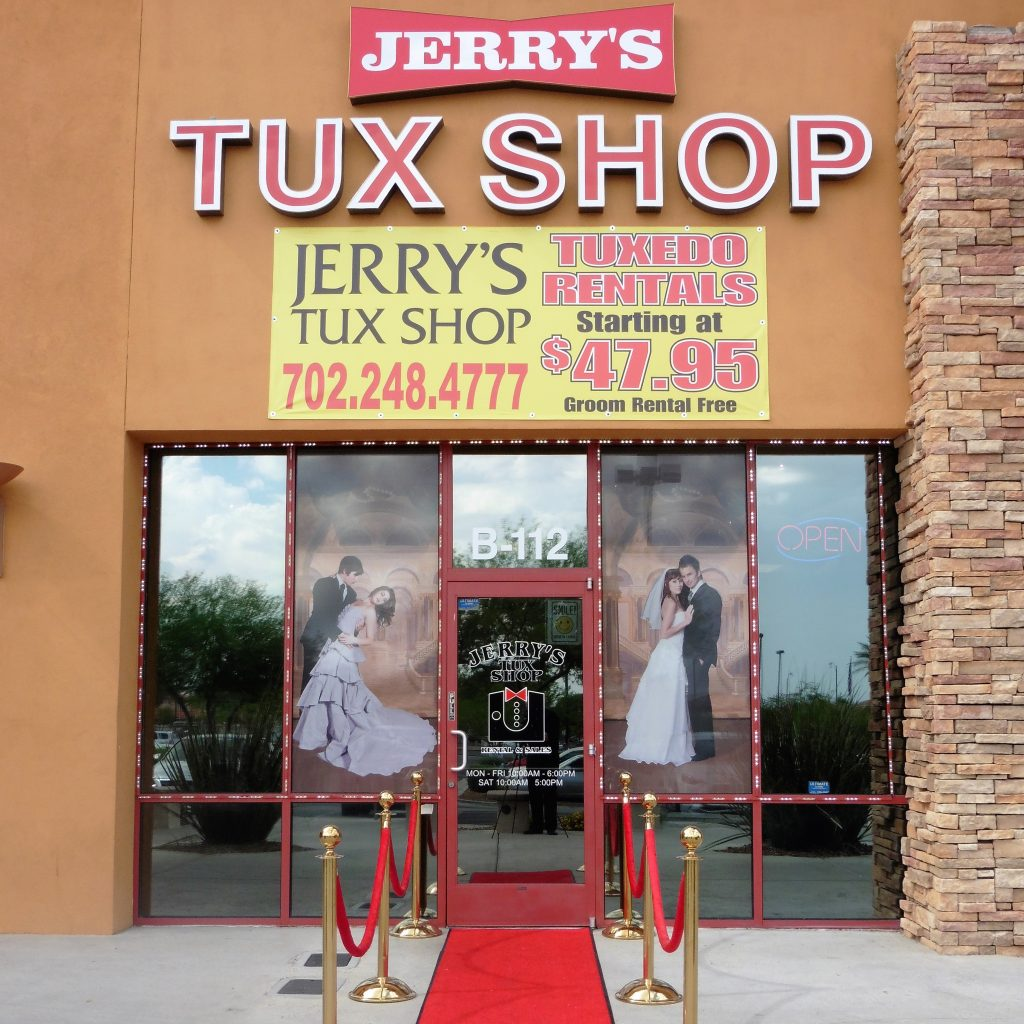 Bridal Spectacular_Las Vegas Weddings_Jerry's Tux Shop
