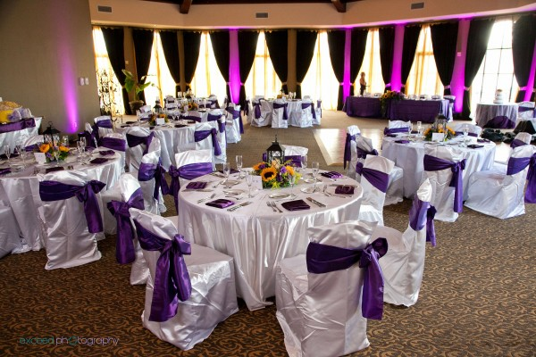 Wedding reception at the Lake Club at Lake Las Vegas