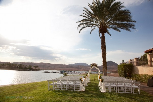 Wedding at the Lake Club at Lake Las Vegas