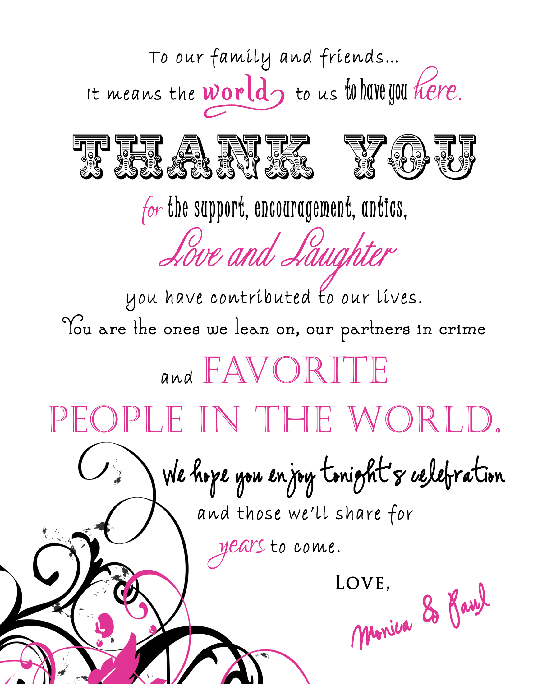 Thank You Messages And Quotes: Stationery Ideas For Your Wedding Day