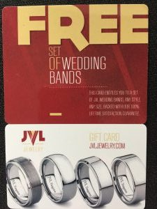 JVL Wedding Bands