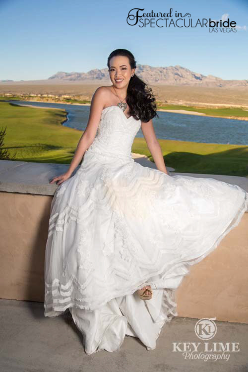 Spectacular Bride at Las Vegas wedding venue Paiute Las Vegas