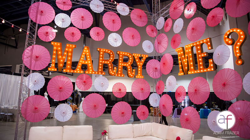 The LED Unplugged Lounge A Must See at The Bridal Spectacular