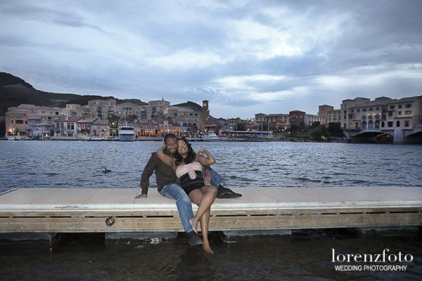 Engagement Shoot at The Ravella at Lake Las Vegas