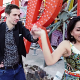 Enjoy a Vegas-Themed Save-the-Date Video Created by Memory Lane