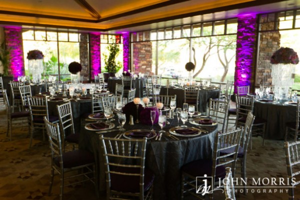 Wedding Reception at The Red Rock Country Club. Photo by John Morris Photography.