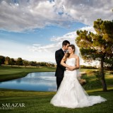 Cameo & James' Dreams Come True With an Elegant Wedding at TPC Summerlin