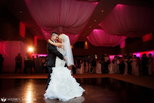 Bride and Groom's first dance. Photo by Stephen Salazar Photography.