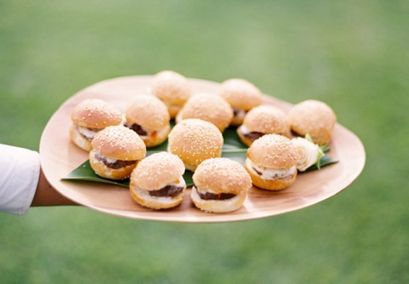 Turkey Sliders 577x400 Creating a Thanksgiving Inspired Wedding