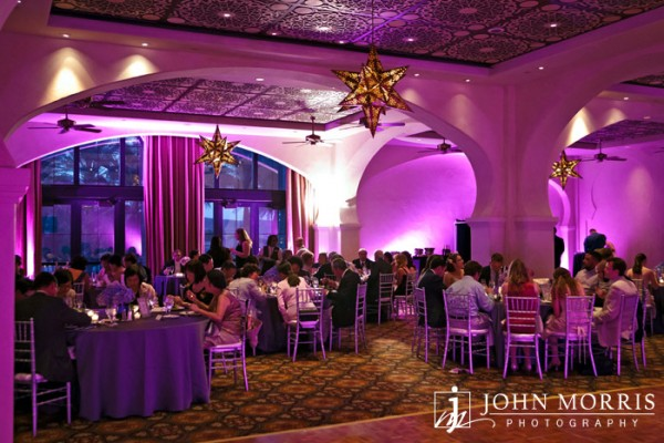 Wedding reception at the Westin Lake Las Vegas. Photo by John Morris Photography.