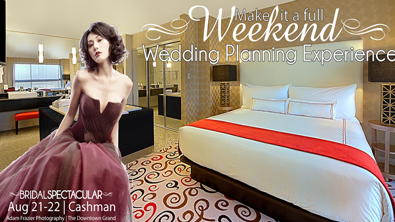 Make It A Full Weekend of Wedding Planning Stay at The Downtown Grand
