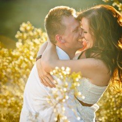 Engagement Photo Captures Romance by John Morris Photography