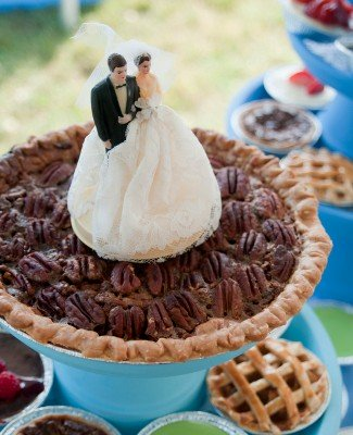 Pecan Wedding Pie. Photo by Inner Circle Photography