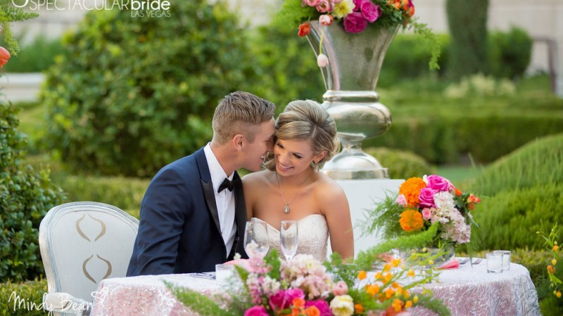 Spectacular Bride at Hilton at Lake Las Vegas by Mindy Bean Photography