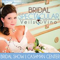 """Save-the-Date for the Bridal Spectacular """"Veils & Vino"""" Bridal Show Returning August 19 & 20"""