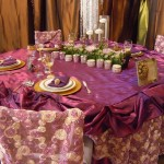 Jovani Linens and Floral Decor