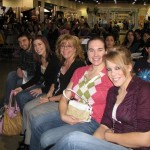 My group and I at Bridal Spectacular