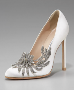 Bella Swan's Manolo Blahnik wedding shoes