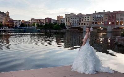 Ravella Wedding At Lake Las Vegas Bridal Spectacular Bridal Show