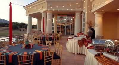 patio reception