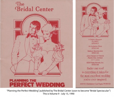 Spectacualr Bride magazine in its earliest form!