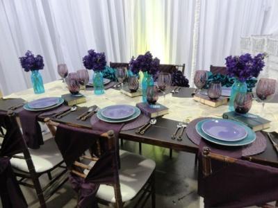 Wedding Table Design brown table design Scheme Table Design 1