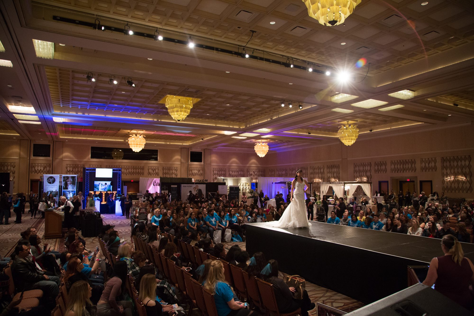 Bridal fashion show at The Rio All suite Hotel & Casino