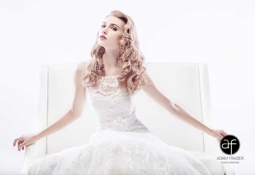 Spectacular Bride Features Images by Adam Frazier